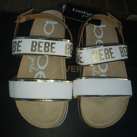 bebe Other - SOLD!🆕Bebe | Strappy Sandals girls size 1